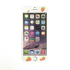 na jabłoni re 7 4,7 cala hartowanego szkła z miękką krawędź pełne pokrycie Ekran przodu ochraniacz rysunek truskawki wzór