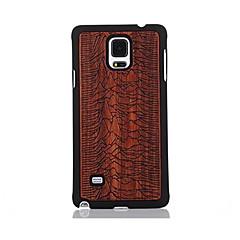 Na Wzór Kılıf Etui na tył Kılıf Krajobraz Twarde Drewno na Samsung Note 4