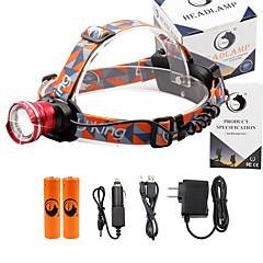Pandelamper 2000 Lumen 3 Tilstand Cree XM-L T6 18650 Justerbart Fokus Komapkt StørrelseCamping/Vandring/Grotte Udforskning Dagligdags