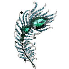Brocher Rhinsten Kvadratisk Zirconium Rhinsten kostume smykker Kvadratisk Zirconium Smykker Til Bryllup Fest Speciel Lejlighed Daglig