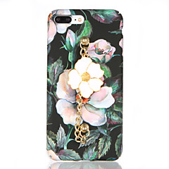 For Frosted Pattern DIY Case Retro Flower Bracelet Hard PC Back Cover Case for Apple iPhone 7 7 Plus 6s 6 Plus
