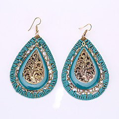 Bohemia Droplets Woven Earrings Exotic Act the Role Ofing Is Tasted