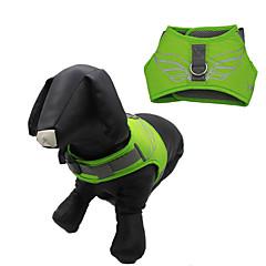 Hunde Seler Vanntett Reflekterende Justérbar/Udtrækkelig Tegneserie Grøn Blå Gul Orange Marineblå Nylon Net