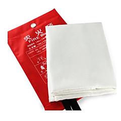 1.2 x 1.2m cam elyaf kompozit malzeme yangın battaniye yüksek sıcaklık direnci güvenlik ürünü