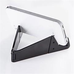 태블릿 스탠드 플라스틱 책상 표 태블릿 홀더 개고 유연한 조정 휴대용 블랙