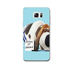 Για Εξαιρετικά λεπτή Με σχέδια tok Πίσω Κάλυμμα tok Σκύλος Μαλακή TPU για Samsung Note 5 Note 4