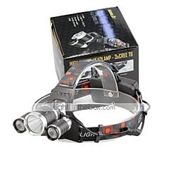 U'King Hoofdlampen LED 4000 Lumens 4.0 Modus Cree XP-G R5 Cree XM-L T6 Batterijen niet inbegrepen Compact formaat Gemakkelijk draagbaar