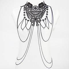 Testékszer/Body Lánc / Belly Chain Ötvözet Csipke Flower Shape Divat Bohemia stílus Aranyozott 1db