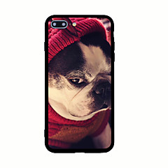 For Pattern Case Back Cover Case Dog Hard Acrylic for iPhone 7 Plus 7 6s Plus 6 Plus 6s 6 5s 5 SE