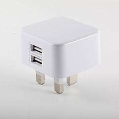 Ładowarka przenośna Do smartfona Do tabletu 2 porty USB Wtyczka UK