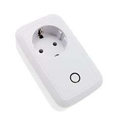 Europäische Vorschriften wifi Smart Socket Telefon App Fernbedienung Timer Fernbedienung WiFi Smart Socket
