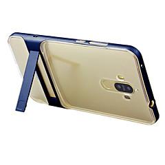 Mert Állvánnyal Áttetsző Case Hátlap Case Egyszínű Kemény PC mert HuaweiHuawei P9 Huawei Honor 6X Huawei Mate 9 Huawei Mate 9 Pro Huawei