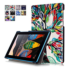 cubierta de la caja de impresión para la lengüeta lenovo 3 Tab3 7 730 730F 730x tb3-730f tableta tb3-730m 7 con el protector de pantalla