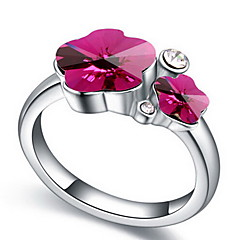 Ring Jewelry Basic Euramerican Gemstone Chrome Jewelry Jewelry For Party Special Occasion Gift 1pc