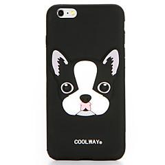 Mert Minta Case Hátlap Case Kutya Puha Szilikon mert Apple iPhone 7 Plus iPhone 7 iPhone 6s Plus iPhone 6 Plus iPhone 6s iPhone 6