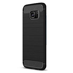 Varten Other Etui Takakuori Etui Yksivärinen Pehmeä TPU varten Samsung S7 edge S7 S6 edge S6