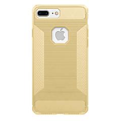 Για Ανθεκτική σε πτώσεις tok Πίσω Κάλυμμα tok Μονόχρωμη Μαλακή Ανθρακονήματα για AppleiPhone 7 Plus iPhone 7 iPhone 6s Plus iPhone 6 Plus