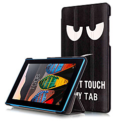 Print Case Cover for Lenovo Tab3 Tab 3 7 730 730M TB3-730M Tablet with Protective Film