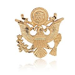 Naisten Pojat Muut Rintaneulat Eläin Euramerican Gold Plated Metalliseos Animal Shape Siivet / Sulka Korut Varten Päivittäin Kausaliteetti