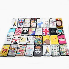 For Apple iPhone 7 Case Cover Pattern Back Cover Case Cartoon Hard PC  Multiple Styles Random Delivery 1 pc