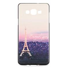 Mert tokok Minta Hátlap Case Eiffel torony Puha TPU mert Samsung A7 A5
