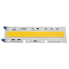 Smart ic ip65 strålkastare ledd cob chip 70w 220v integrerad rektangel led lampa varm / kall vit (1 stycke)