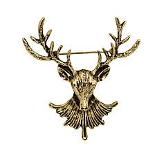 Naisten Poikien Muut Rintaneulat Eläin Vintage Personoitu Euramerican pukukorut Gold Plated Metalliseos Animal Shape Korut Käyttötarkoitus