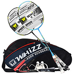 Badmintonracket Slitsäker Tålig Karbonfiber 1 st för
