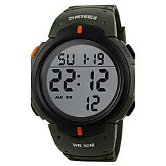 Αντρικά Γυναικεία Unisex Αθλητικό Ρολόι Ρολόι Φορέματος Μοδάτο Ρολόι Ψηφιακό ρολόι Χαλαζίας Ψηφιακό Ημερολόγιο Μεγάλο καντράν Γνήσιο δέρμα