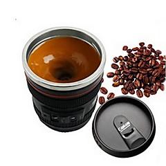1kpl emulointi kameran linssi ruostumattomasta teräksestä sisäinen keittiö ruokailutila baari kotitoimiston maitoa teetä kahvin itse