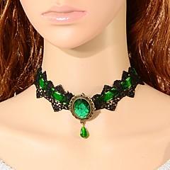 Damskie Naszyjniki choker Crown Shape Koronka Modny Turecki Klasyczny Biżuteria Na Ślub Impreza Specjalne okazje Urodziny Zaręczynowy 1szt