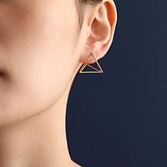 Női Beszúrós fülbevalók jelmez ékszerek Divat Euramerican Ötvözet Geometric Shape Triangle Shape Ékszerek Kompatibilitás Napi