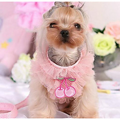 Σκύλος Φορέματα Ρούχα για σκύλους Καθημερινά Μοντέρνα Καρό/Τετραγωνισμένο Βυσσινί Ροζ