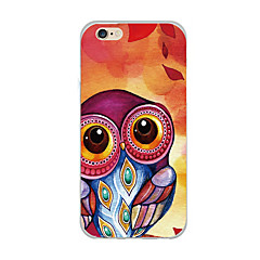 Til case cover ultra tynde mønster bagside cover ugle soft tpu til iphone 7 plus 7 6s plus 6 plus 6s se 5s 5