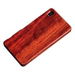 cornmi Sony Xperia z3 fa bambusz tok mobiltelefon fa houising héj védelem