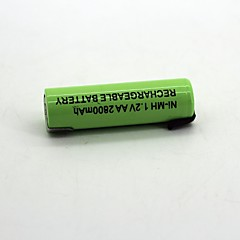 Ni-mh 1.2v aa 2800mah bateria recarregável