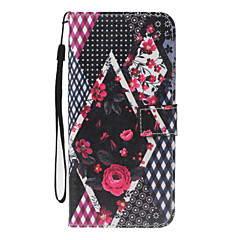 For Case Cover Card Holder Wallet with Stand Flip Pattern Full Body Case Flower Hard PU Leather for Apple iPhone 7 Plus 7 6s 6Plus 5S 5SE