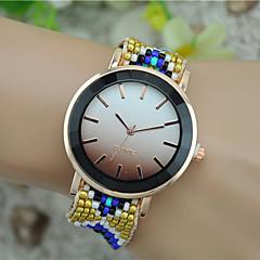 Women's Fashion Watch Wrist watch Bracelet Watch Quartz Fabric Band Bohemian