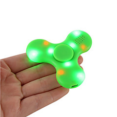 Fidget spinner -stressilelu hand Spinner Lelut Tri-Spinner Muovi EDCBluetooth kaiutin Killing Time Focus Toy Lievittää ADD, ADHD,