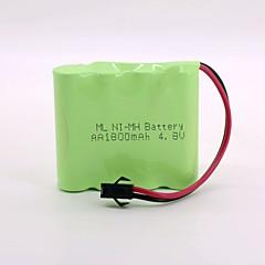 Ni-mh baterie 1800mah aa 4.8v