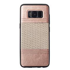 Για Επιμεταλλωμένη Ανάγλυφη Με σχέδια tok Πίσω Κάλυμμα tok Γραμμές / Κύματα Μαλακή TPU για Samsung S8 S8 Plus S7 edge S7 S6 edge S6