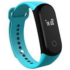 Yy a16 γυναίκα άνδρες έξυπνο βραχιόλι / smartwatch / bluetooth ip67 καρδιακός ρυθμός ύπνος οθόνη βηματικό ρολόι βραχιόλι ρολόι για ios