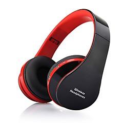 soyto nx-8252 professionell vikbara trådlösa bluetooth hörlurar super stereo baseffekt bärbar headset för dvd mp3