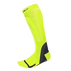 Kerékpár/Kerékpározás Kompressziós zokni Légáteresztő Melegen tartani Viselhető Mekano Tömörítés Csúszásgátló Nejlon Elasztán LYCRA