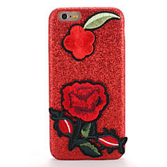 For Apple iPhone 7 7Plus Case Cover Pattern DIY Back Cover Case Glitter Shine Flower Hard PC 6s Plus  6 Plus  6s  6