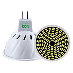 YWXLight® 1PCS GU10 GU5.3(MR16) 128LED 5W 3014SMD 400-500lm Warm White Cool White Natural White Dimmable Decorative LED Spotlight (AC 220-240V)