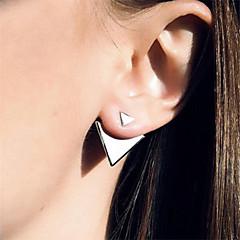 Pentru femei Cercei Stud stil minimalist European La modă costum de bijuterii Aliaj Triangle Shape Bijuterii Pentru Zilnic Casual