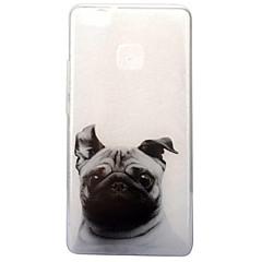 Mert IMD Átlátszó Minta Case Hátlap Case Kutya Puha TPU mert Huawei Huawei P10 Huawei P9 Lite Huawei P8 Lite (2017)