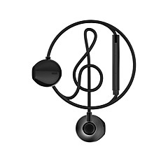 BEEVO WE300 bass headphones wired ear microphone function control with high fidelity and have ear listening noise reduction