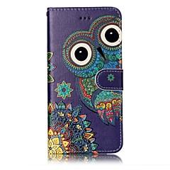 Για το iphone 7 plus 7 κουκουβάγια βερνίκι πρότυπο ανάγλυφο pu δέρμα υλικό τηλέφωνο περίπτωση 6s 6s 6 5s se 5